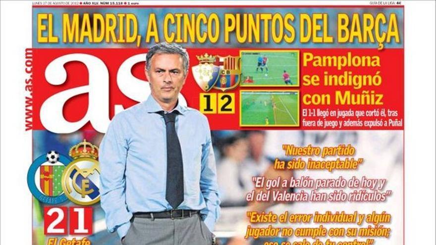 De las portadas del día (27/08/2012) #12