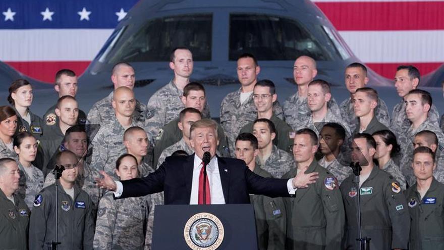 """Trump: Hay una """"abrumadora"""" cantidad de opciones para responder a Pyongyang"""