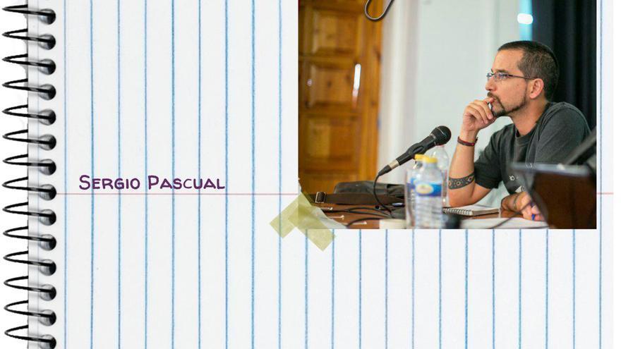 Sergio Pascual, del comité de Extensión de Podemos.