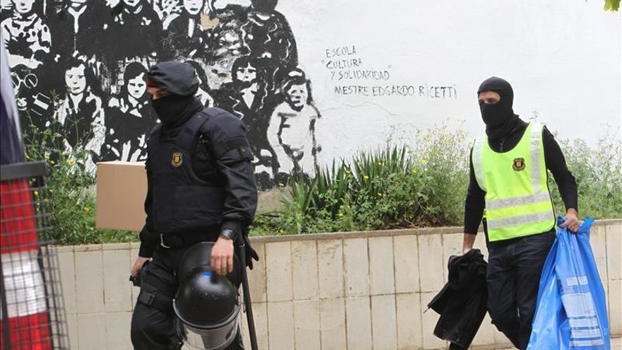 Los anarquistas detenidos tenían droga y material para una guerrilla urbana