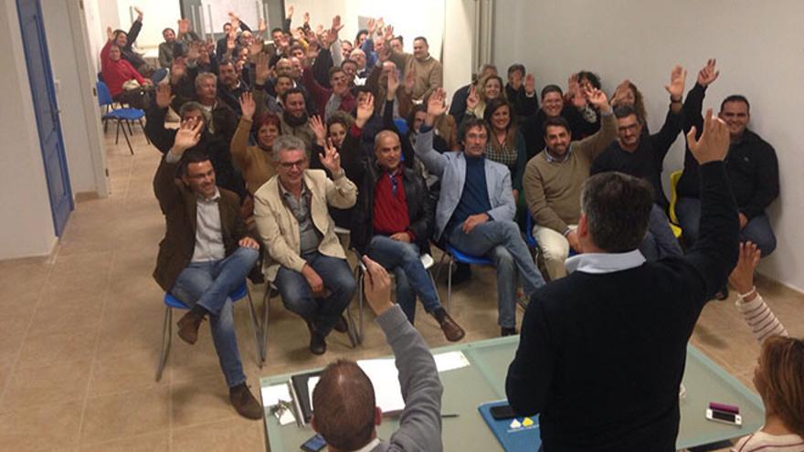 Consejo Político Insular de Coalición Canaria en Lanzarote. FOTO: Diario de Lanzarote.