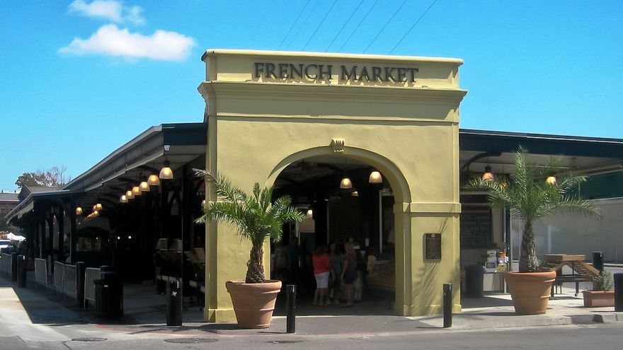 Entrada principal del Mercado Francés.