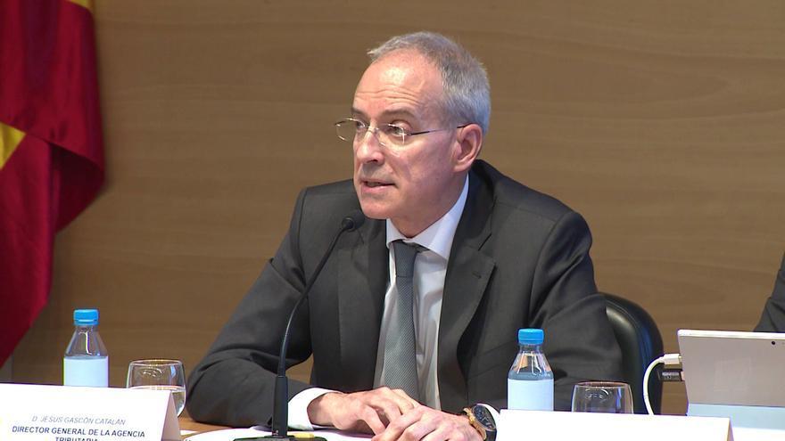 Jesús Gascón, director general de la Agencia Tributaria.