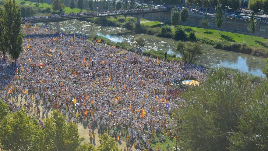 El independentismo afronta hoy una movilización clave de apoyo al 1-O