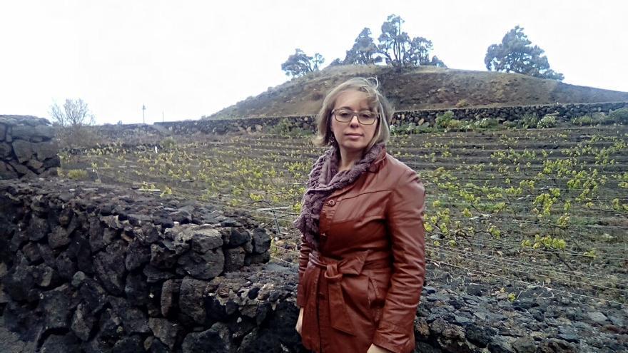 Eva Hernández es gerente del Consejo Regulador de Vinos La Palma.