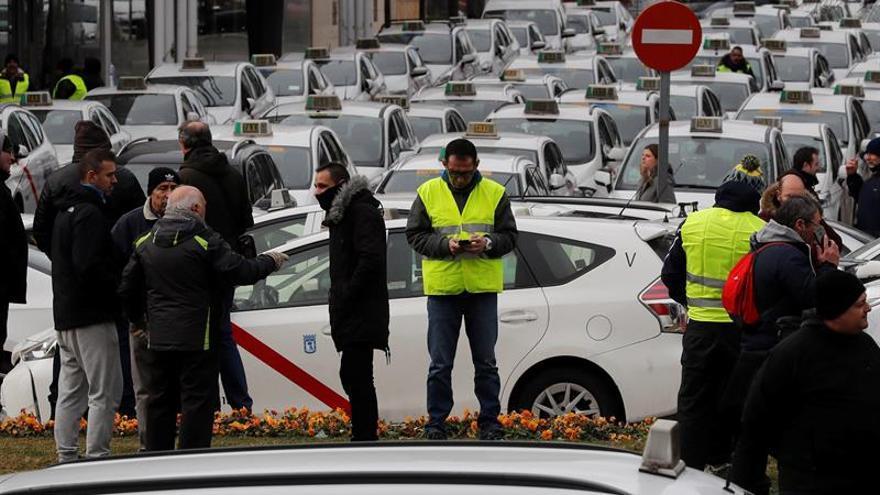 """El taxista arrollado en Madrid permanece hospitalizado """"muy grave"""""""