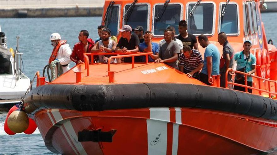 La OIM reporta el rescate en el Mediterráneo de 44 migrantes que se dirigían a España