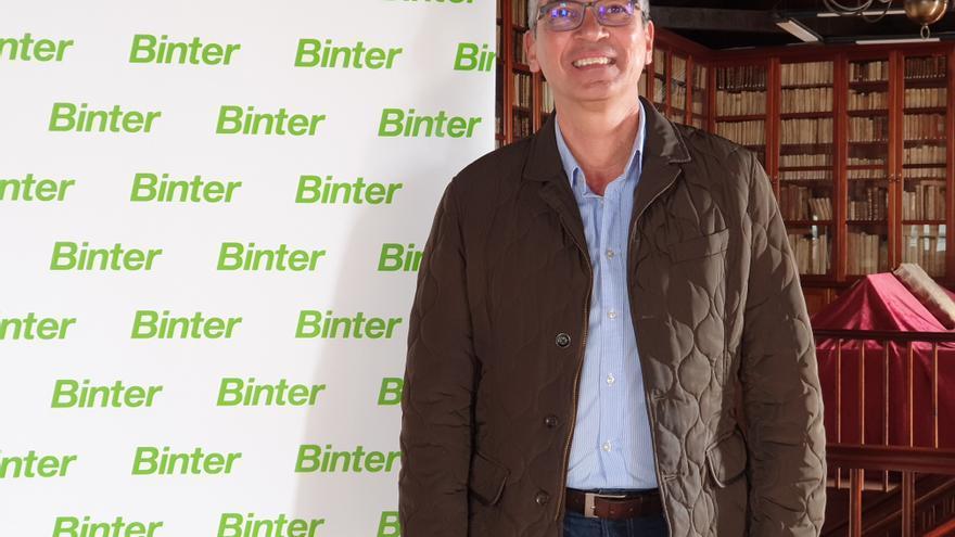 José Guillermo Rodríguez Escudero es responsable de Comunicación de Binter.