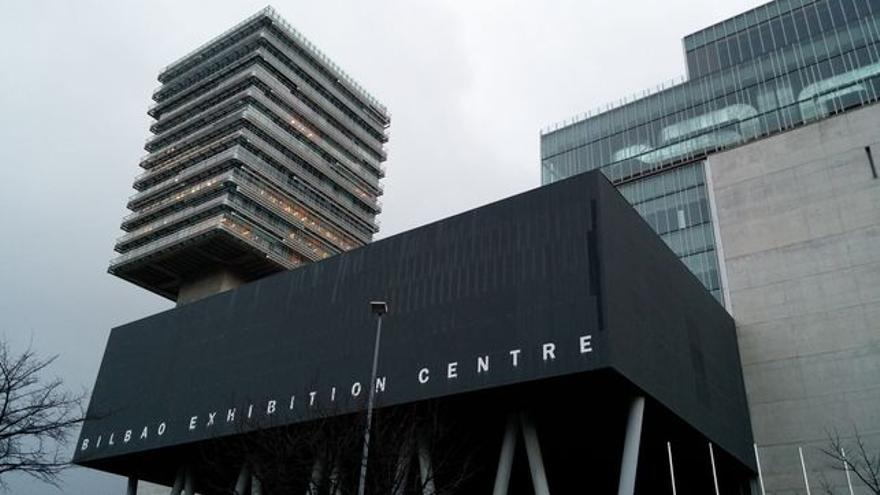 Fachada del Bilbao Exhibition Center, en Barakaldo.