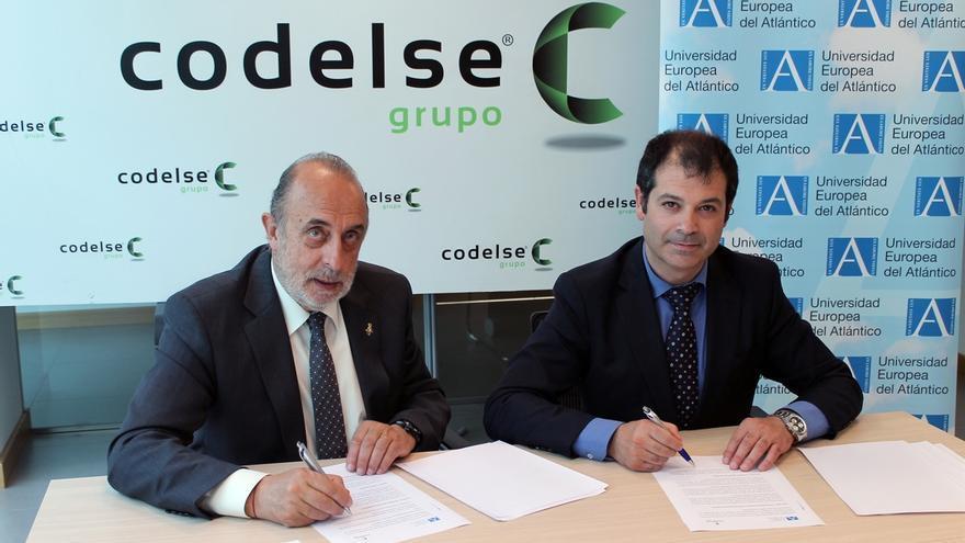 UNEATLANTICO firma un convenio con el Grupo Codelse para aunar esfuerzos en I+D+i