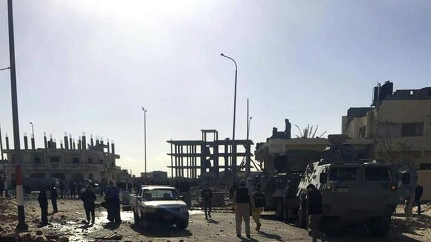 El Ejército egipcio mata a 6 supuestos terroristas tras un ataque frustrado en el Sinaí
