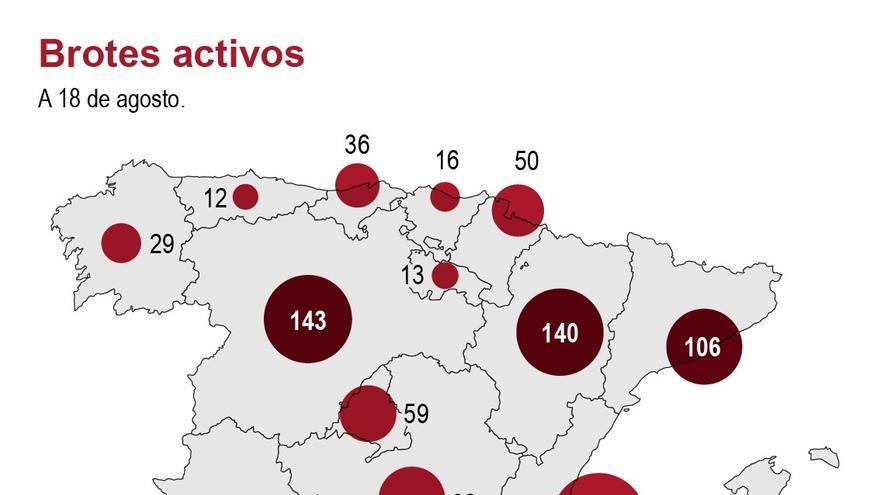 España, país europeo con más incidencia de COVID-19, amplía las restricciones