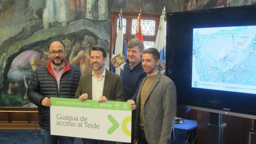 Presentación del 'Operativo Nevadas', este lunes en el Cabildo de Tenerife