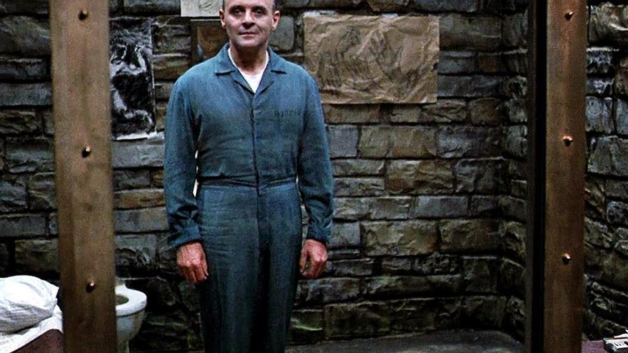 Hannibal Lecter en el Silencio de los corderos.