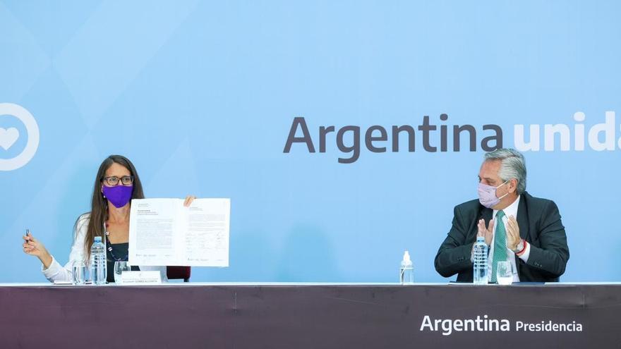 """Alberto Fernández y los gobernadores presentaron el """"Acuerdo Federal para una Argentina Unida contra la violencia de género"""""""