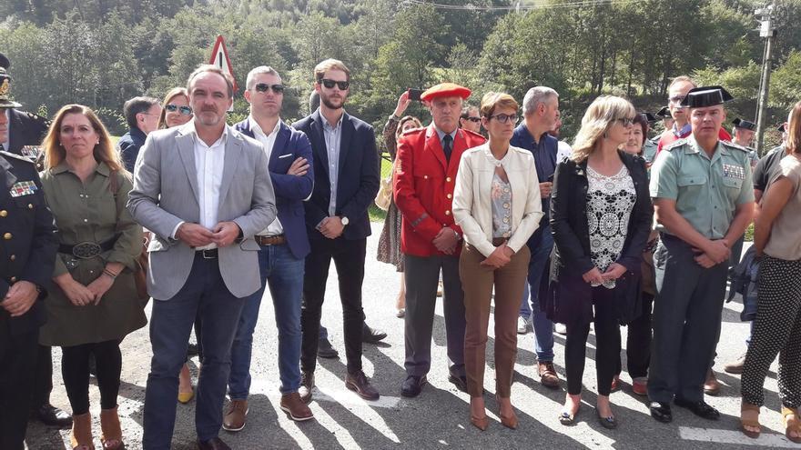 """El Gobierno de Navarra """"respeta"""" la opinión de la viuda de Beiro pero dice que está """"condicionada"""" por ser de Vox"""