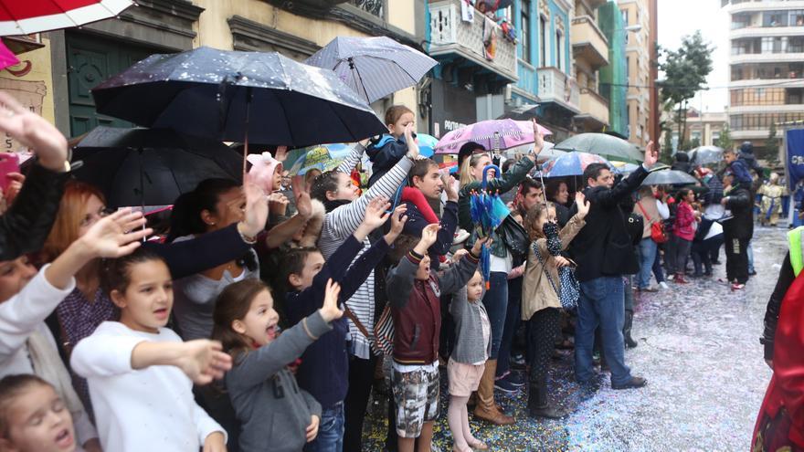 Cabalgata de Reyes en la capital grancanaria. (Alejandro Ramos).