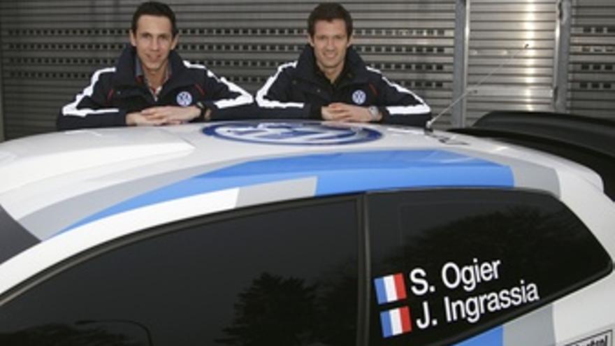 Sebastien Ogier Y Julien Ingrassia