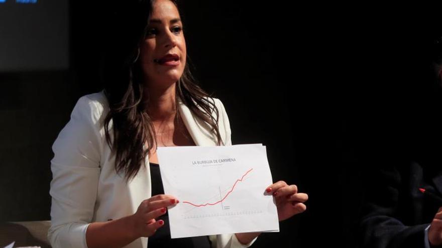 Carmena quiere sumar con las izquierdas para ganar a PP, Ciudadanos y Vox