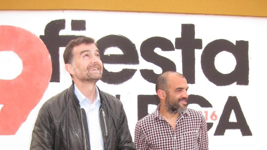 """Maíllo dice que la """"confluencia"""" con Podemos y otras fuerzas debe tener en cuenta la implantación de IU en Andalucía"""