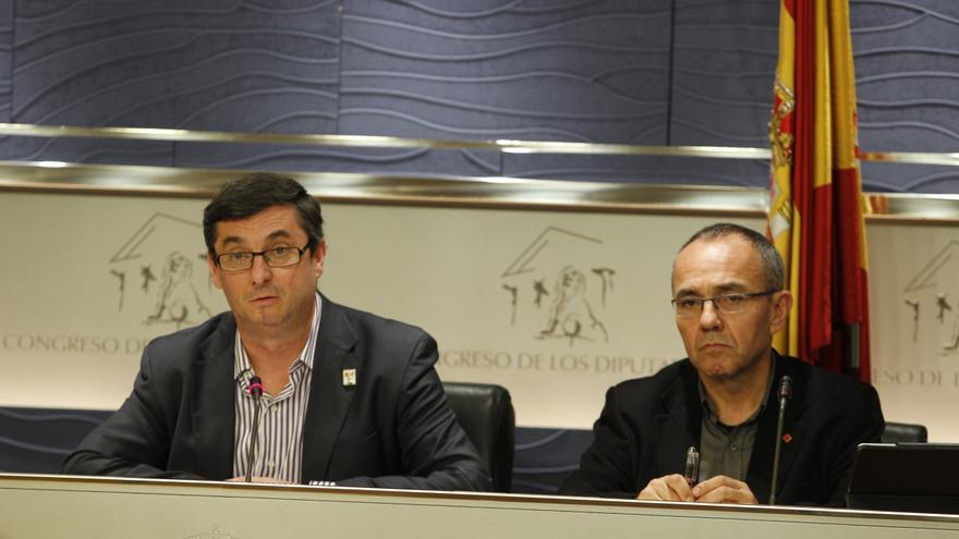 """IU-ICV denuncia la """"vergüenza"""" de que Bárcenas vaya a ser investigado por """"todo el mundo"""" menos por el Parlamento"""
