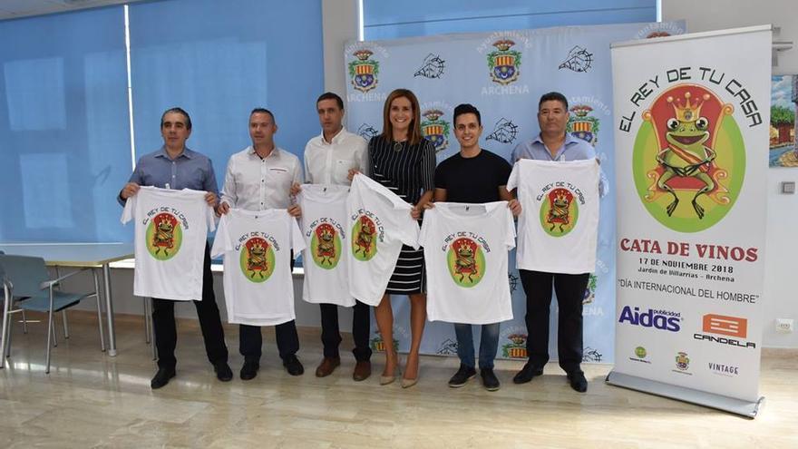 Presentación de la celebración de el 'Día Internacional del Hombre' en Archena, Murcia