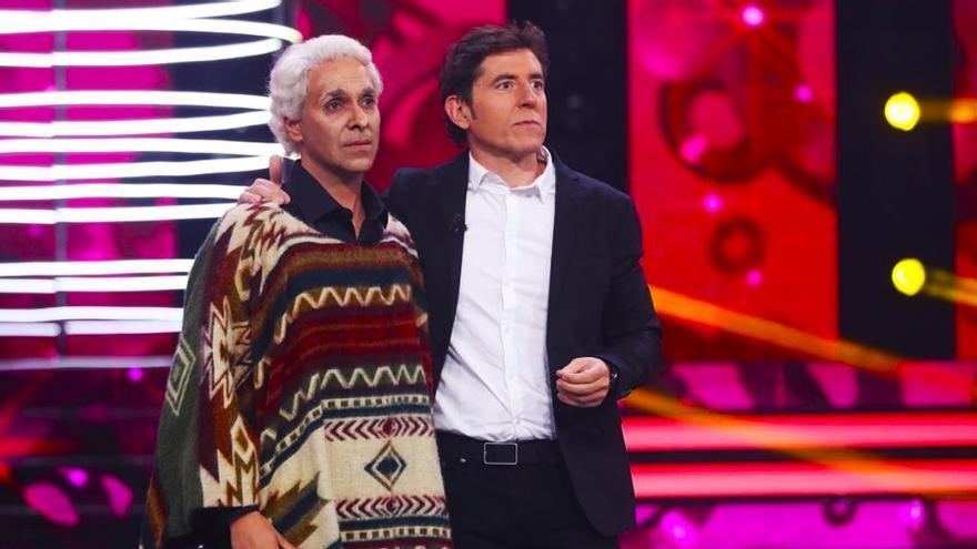 'Chaveta Vargas' y 'James Brown' impresionan en la semifinal de 'Tu cara'