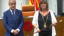 Núria Marín (PSC) quitará el lazo amarillo de la Diputación de Barcelona tras el pacto con JxCat