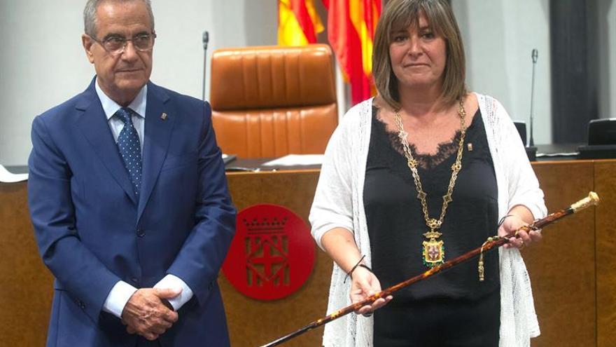 Marín (PSC), presidenta de la Diputación de Barcelona tras el pacto con JxCat
