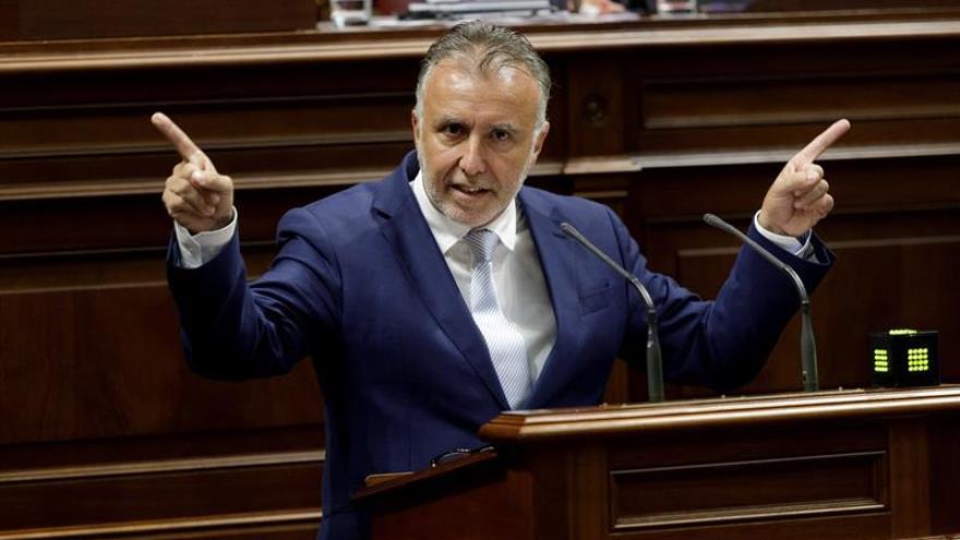 El nuevo presidente del Gobierno canario, Ángel Víctor Torres.