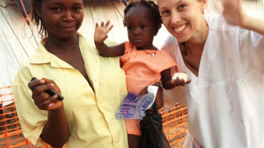 Michalsen supera el ébola / Foto: MSF