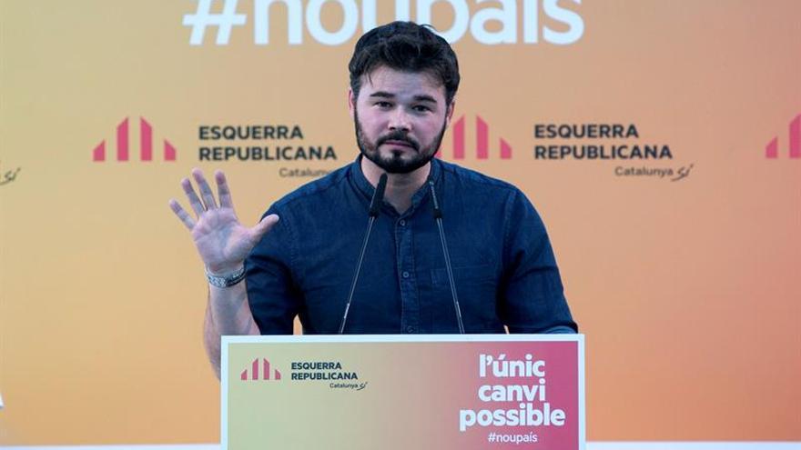 ERC se queja de no tener ninguna propuesta de En Comú para apoyar a Domènech