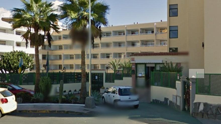 Apartamentos Las Dunas, en Playa del Inglés (Gran Canaria).