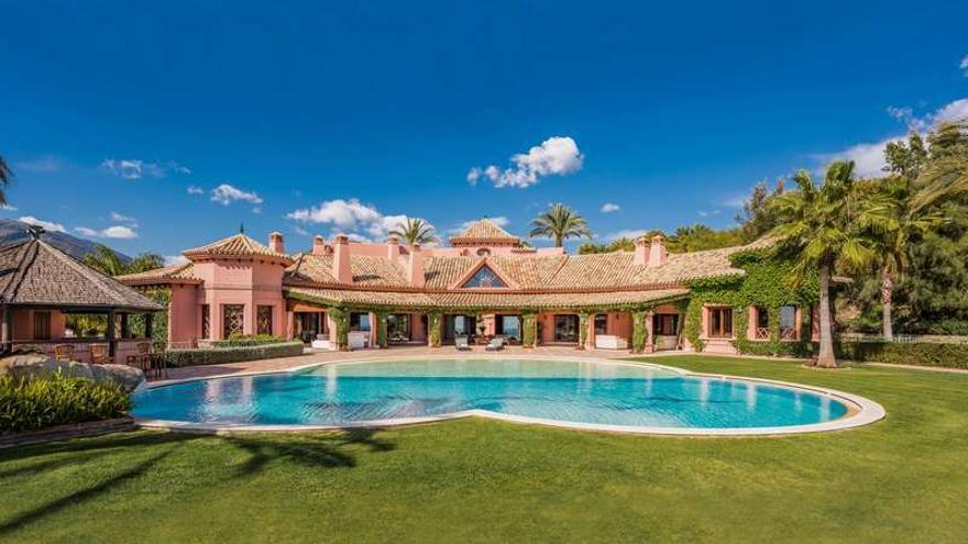 Imagen general de la vivienda de Ángeles Muñoz publicada en la web de la inmobiliaria Panorama