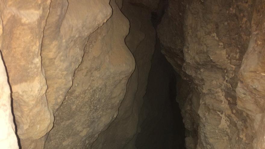Interior de la Cueva de las Muelas/ Patrimonio Santomera