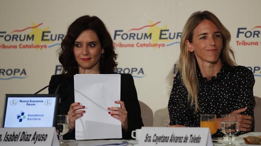 """Álvarez de Toledo a Torra: si persiste le espera """"el ridículo o el castigo"""""""