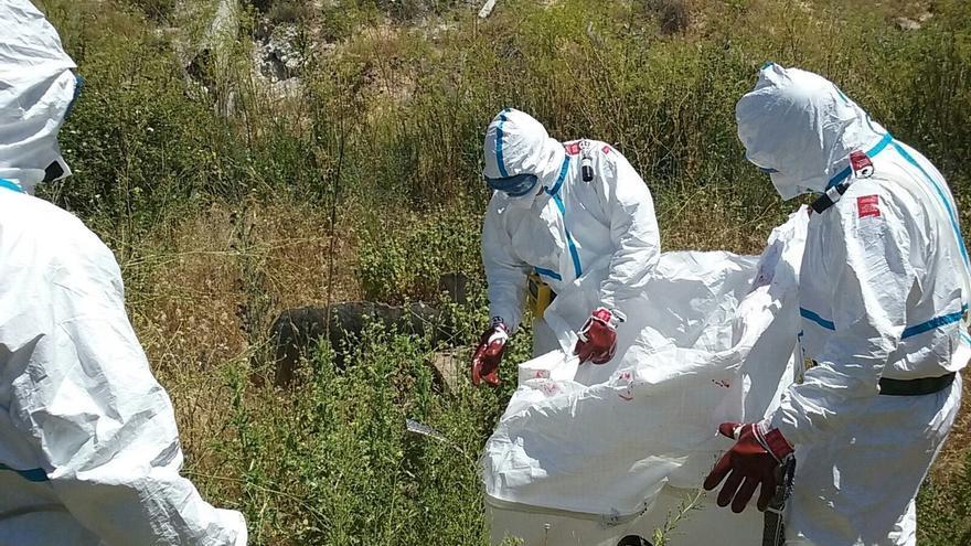 La CHT retirará amianto encontrado en el arroyo de Ramabujas en Toledo y pide al Ayuntamiento ser convocado a Comisión