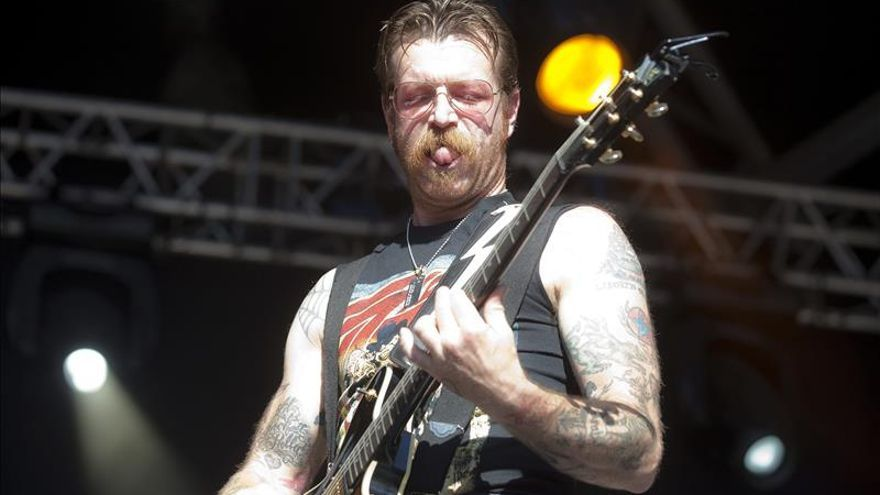 "La banda ""Eagles of Death Metal"" quiere tocar en la reapertura del Bataclan"