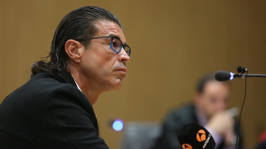 Carmelo Martín S.D. durante su intervención.