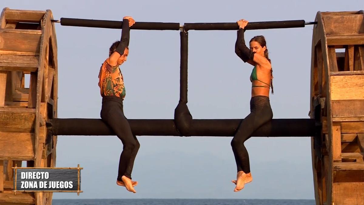 Olga y Melyssa, en la quinta gala de 'Supervivientes 2021'