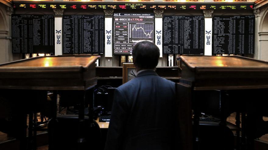 El IBEX cae el 0,41 por ciento a la espera de la Reserva Federal de Estados Unidos