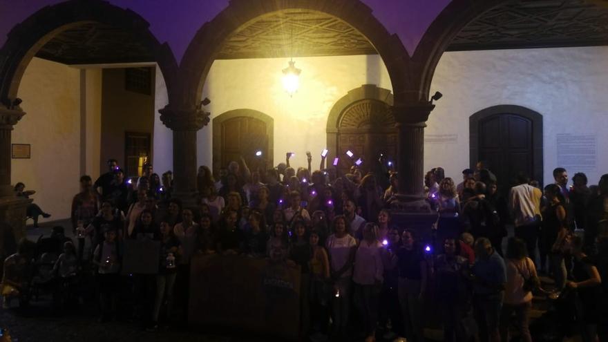 Acto celebrado en Santa Cruz de La Palma.