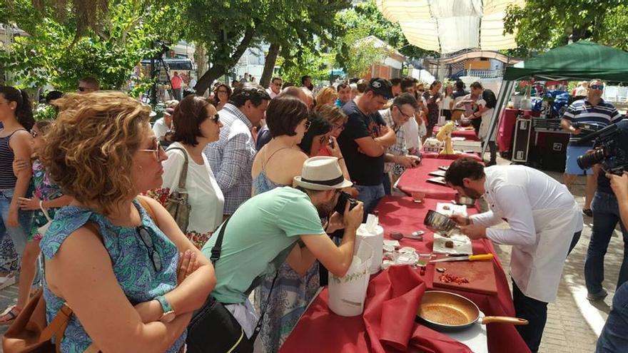 Fiesta de la Cereza en Castillo de Locubin (Jaén)