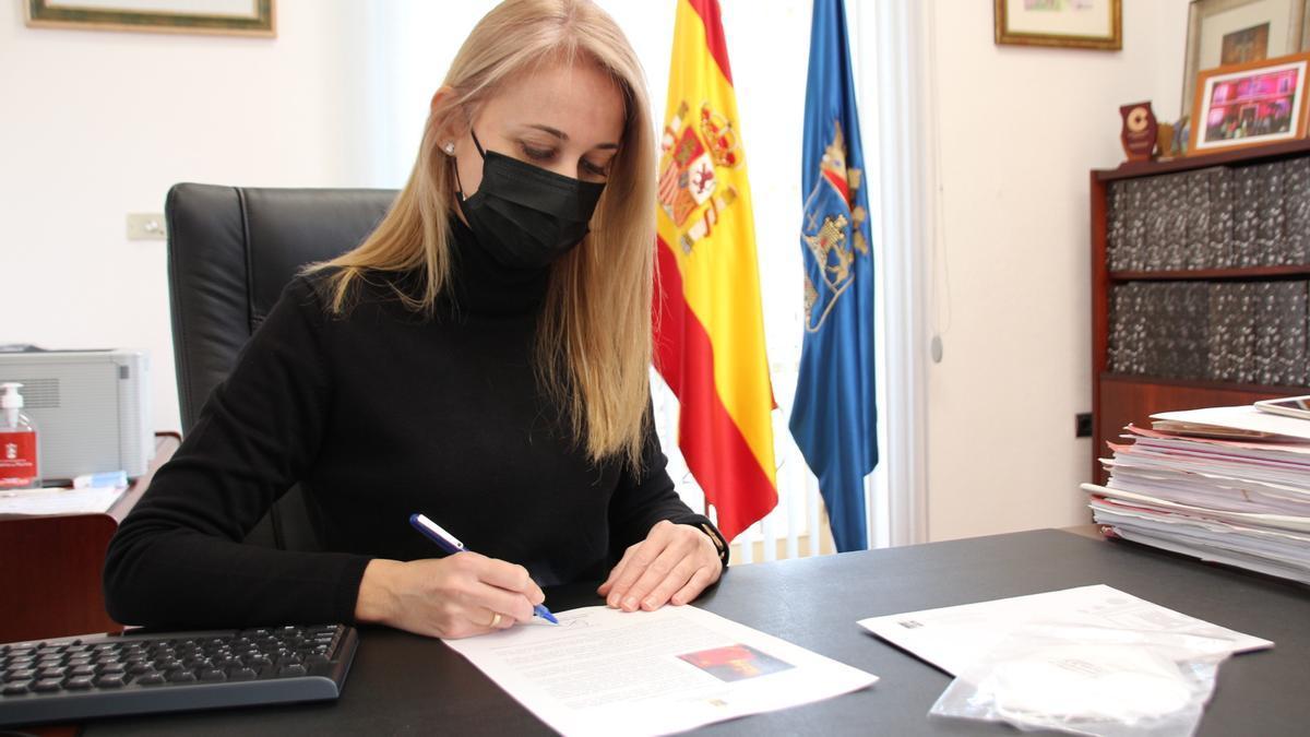 La alcaldesa de Alhama de Murcia, Mariola Guevara