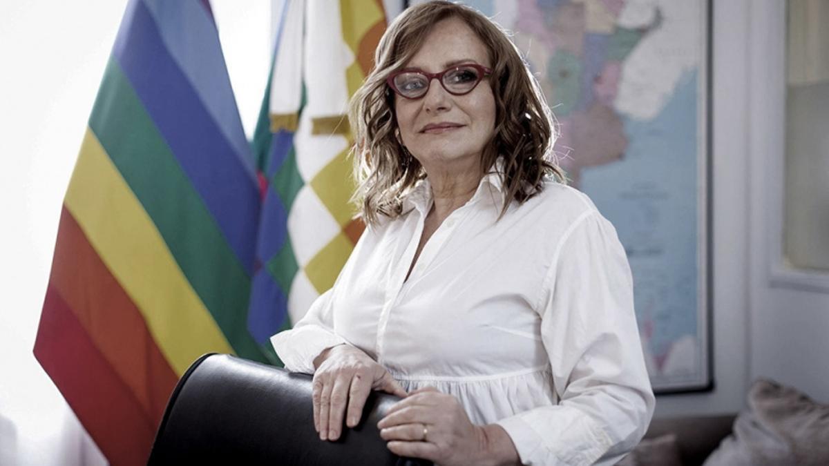 La periodista Miriam Lewin, titular de la Defensoría del Pueblo