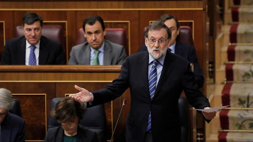 Rajoy a Rivera: No se equivoque de adversario en Cataluña