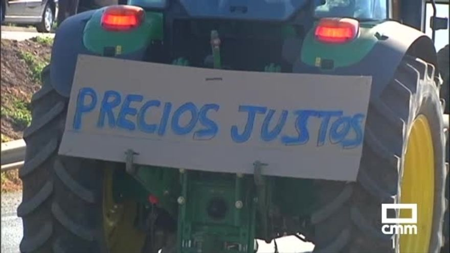 Tractorada en La Puebla de Don Rodrigo