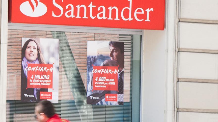Sucursal del Banco Santander en Barcelona