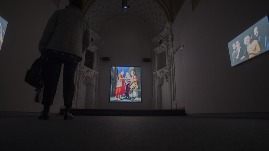 Exposición Vía Mística FOTO: Eulen Art