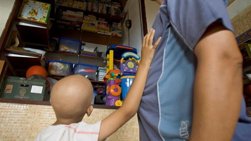 La vida del niño sigue.... también en el hospital